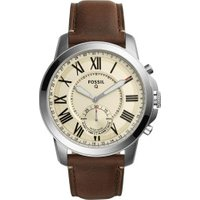 Fossil Q Grant dark brown Leather