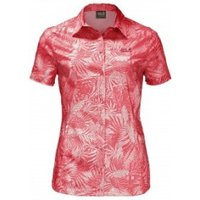 Jack Wolfskin Sonora Jungle Shirt hot coral all over