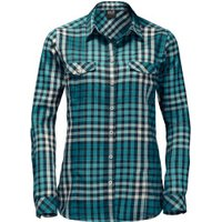 Jack Wolfskin Valley Shirt Women spearmint checks