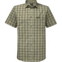 Jack Wolfskin Hot Springs Shirt khaki checks
