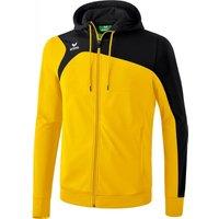 Erima Club 1900 2.0 Training Jacket hooded yellow/black