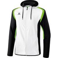 Erima Razor 2.0 Training Jacket hooded white/black/green gecko