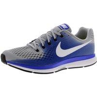 Nike Air Zoom Pegasus 34 (880555) wolf grey/racer blue/deep royal blue/white