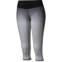 Puma Running Women's Graphic 3/4 Tights gray violet/black periscope