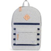 Herschel Heritage Backpack light grey crosshatch stripe