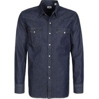 Levi's Barstow Western Shirt red cast rinse