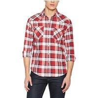 Levi's Barstow Western Shirt cherry bomb plaid