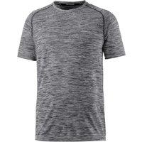 Nike Dry Knit Men's Short-Sleeve Running Top heather/black