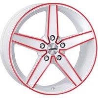 Autec Typ D Delano (8x18) white/red elox