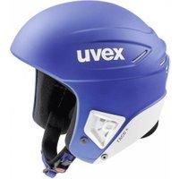 Uvex Race + cobalt/white mat