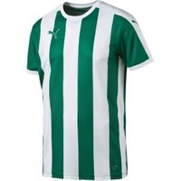 Puma Striped Football Jersey Youth power green/white