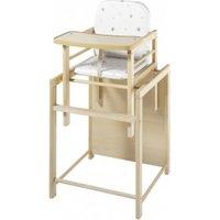 Schardt X-Tra II Convertible Wooden High Chair Grey