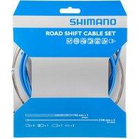 Shimano Road PTFE Shift Cable Set Blue