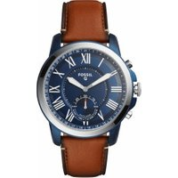 Fossil Q Grant blue Leather