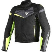 Dainese Veloster Tex Jacke black/grey/yellow