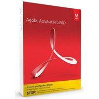 Adobe Acrobat 2017 Pro (Win) (EN) (EDU) (Box)