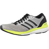 Adidas adiZero Boston 6 W grey two/core black/solar yellow