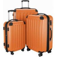 Hauptstadtkoffer Spree Spinner Set 55/65/75 cm orange