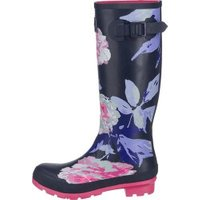 Joules Welly Print french navy beau bloom