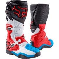Fox Comp 8 Boots blue/white