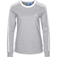 Adidas 3-Streifen Longsleeve Medium Grey Heather (BK5874)