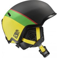 Salomon Hacker black/green/yellow