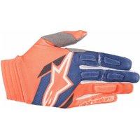 Alpinestars Aviator Gloves 2018 orange/blue