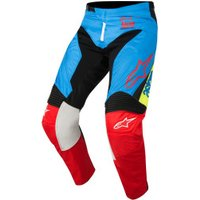 Alpinestars Racer Supermatic 2018 Pants blue/red