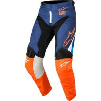 Alpinestars Racer Supermatic 2018 Pants blue/orange