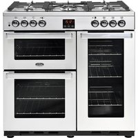 Belling Cookcentre 90DFT Professional Stainless Steel