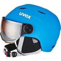 Uvex Junior Visor Pro liteblue/white mat