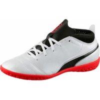 Puma ONE 17.4 IT Jr white/black/coral