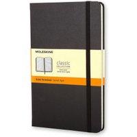 Moleskine Notebook Large Hardcover Ruled Black