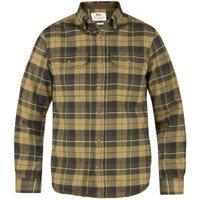 Fjällräven Sarek Heavy Flannel Shirt green