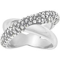 Swarovski Crystaldust Cross Ring grey 55 (5348408)