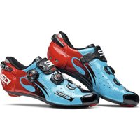 Sidi Wire Carbon Vernice blue/red