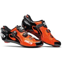 Sidi Wire Carbon Vernice orange/black