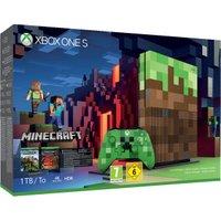 Microsoft Xbox One S 1TB + Minecraft Limited Edition