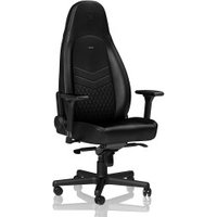 Noblechairs Icon black/black (real leather)