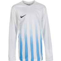 Nike Striped Division II Jersey Youth longsleeve white/university blue/black