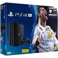 Sony PlayStation 4 (PS4) Pro 1TB + FIFA 18