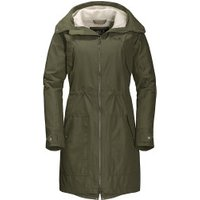 Jack Wolfskin Rocky Point Parka Women woodland green