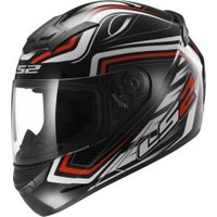 LS2 FF352 Rookie Ranger black/red