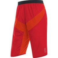 Gore Power Trail Gore Windstopper Insulated Shorts red/orange