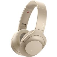 SONY WH-H900N Wireless Bluetooth Noise-Cancelling Headphones - Gold, Gold