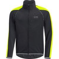 Gore Phantom Windstopper Zip-Off Jacket black/neon yellow