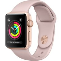 Apple Watch Series 3 GPS Gold 38mm Pink Sand Sport Band