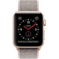 Apple Watch Series 3 GPS + Cellular Gold Aluminum 38mm Pink Sand Sport Loop