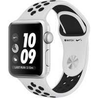 Apple Watch Series 3 Nike+ GPS + Cellular Silver 42mm Pure Platinum/Black Sport Band