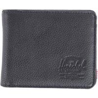 Herschel Hank Coin Wallet black pebbled leather (10149)